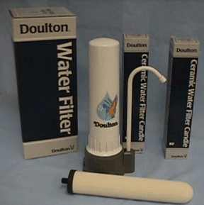 Doulton Ceramic Drinking Water Filters and Drinking Water Filters Systems